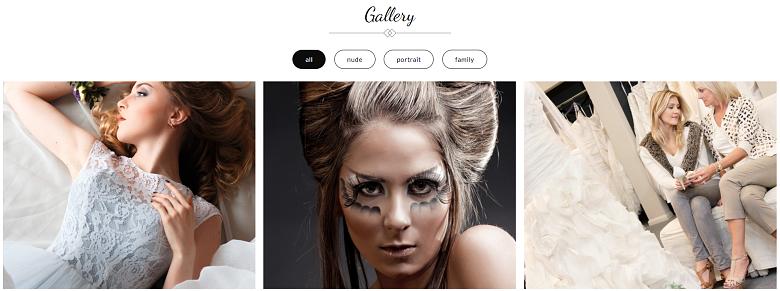 WordPress Catch Co Theme Gallery Page