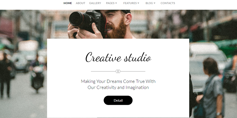WordPress Catch Co Theme Homepage