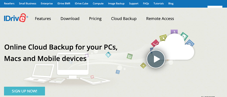 iDrive cloud backup for all devices