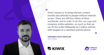 Kiwix – Bringing Internet Content To People Without Internet Access