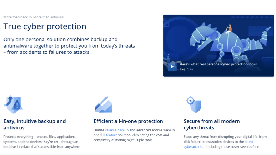 Acronis True Image 2021 Overview
