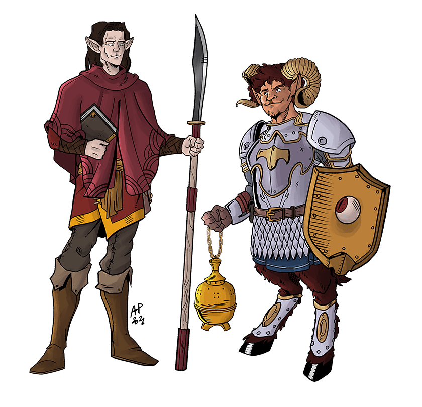 DND character design - piccyonee