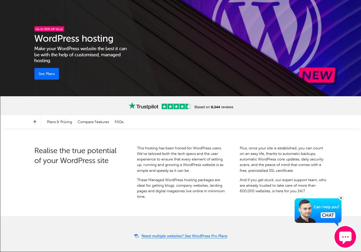 tsoHost - shared vs managed WordPress hosting