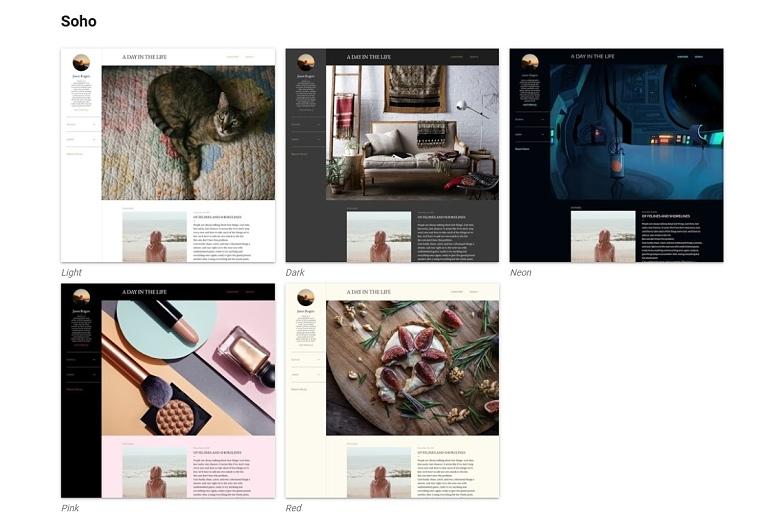 Blogger blog themes
