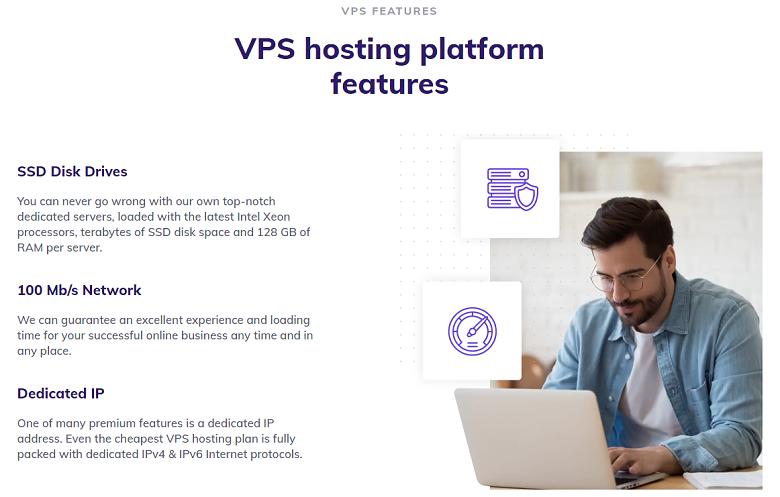 Hostinger VPS feature list