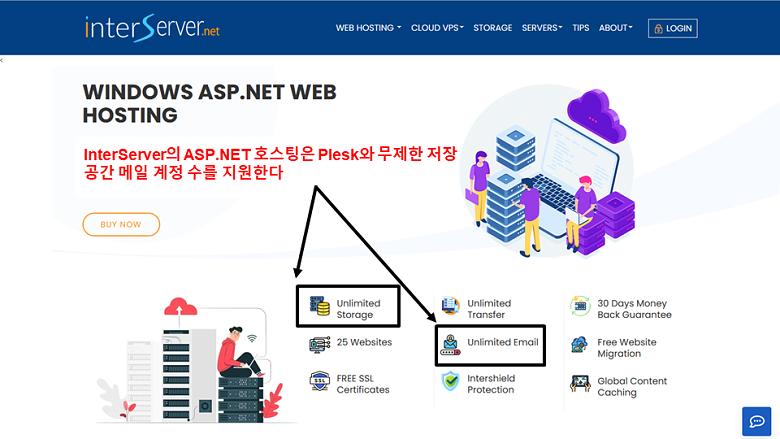 InterServer - ASP.NET hosting with Plesk