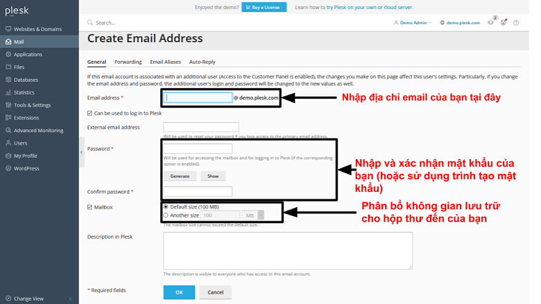 how to setup your business email