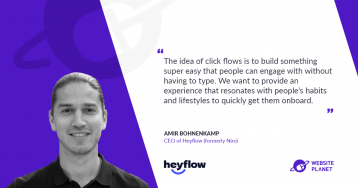 Build Interactive Click Flows And Create An Outstanding UX With Heyflow