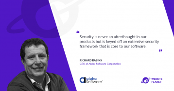 Apps, security and low-code with Alpha Software