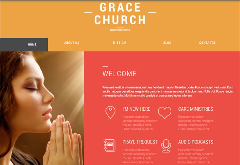 Religious Organization Theme