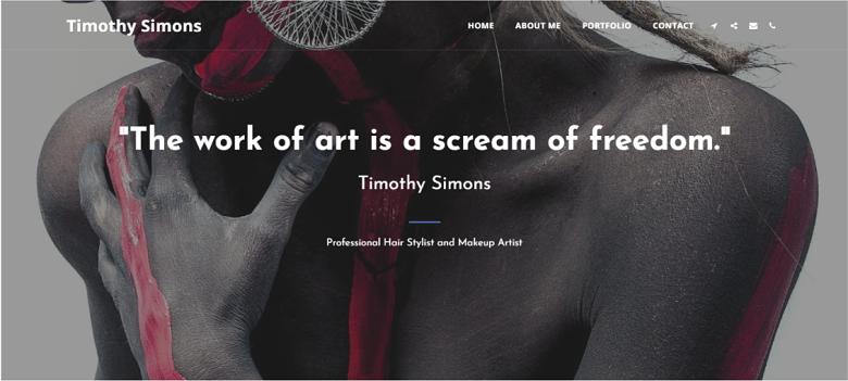 Timothy Simmons - Best Minimalist Design