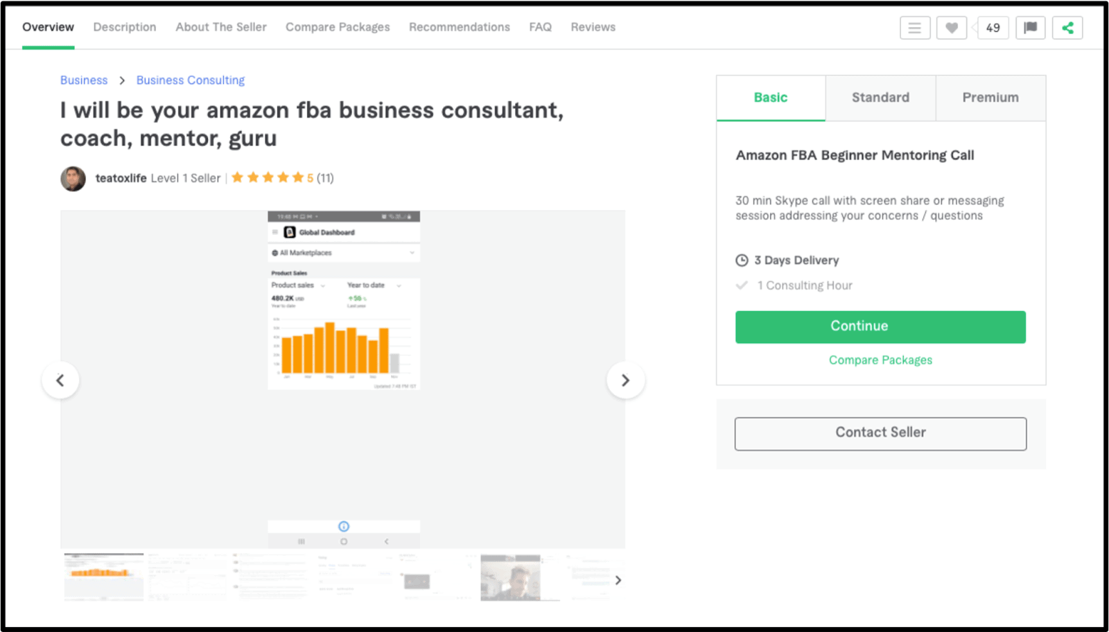 FBA Amazon Consultant teatoxlife profile