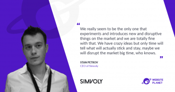 Simvoly – a Smooth Website Builder For Small Businesses and Agencies