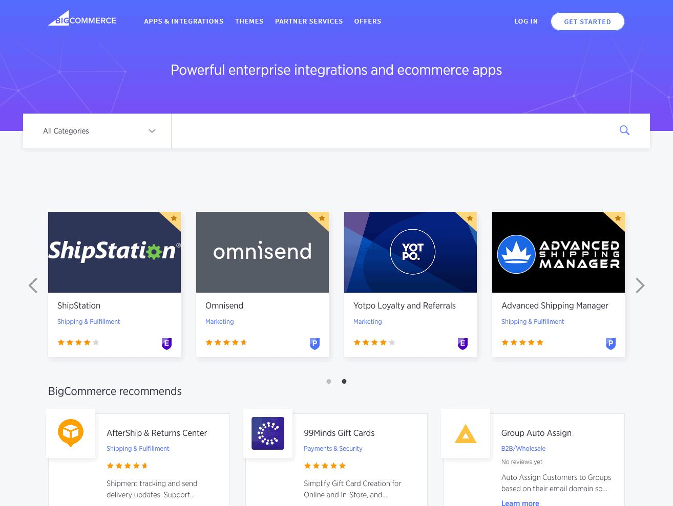 The BigCommerce App Store