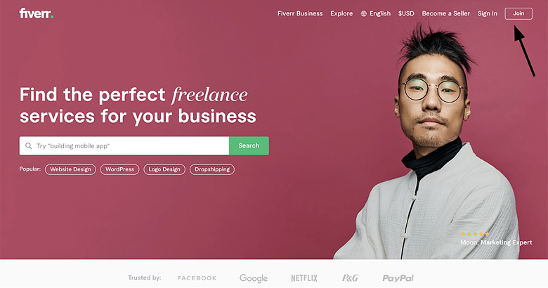 sell business plan services on Fiverr