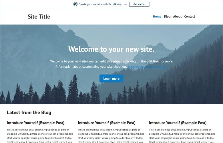 wordpress-com-free-website-banner