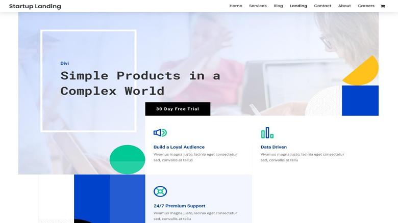 divi-startup-layout-pack-landing-page