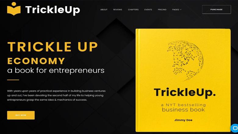 trickleup-wordpress-landing-page-theme