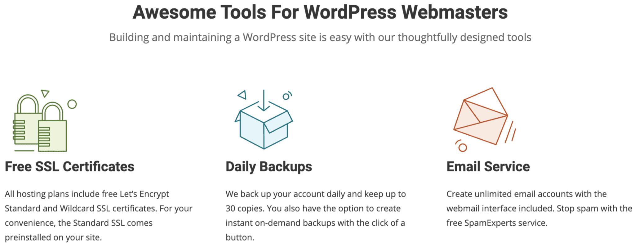 siteground-wordpress-hosting-webmaster-tools