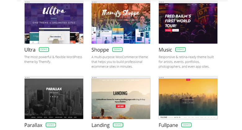 Themify Theme Gallery