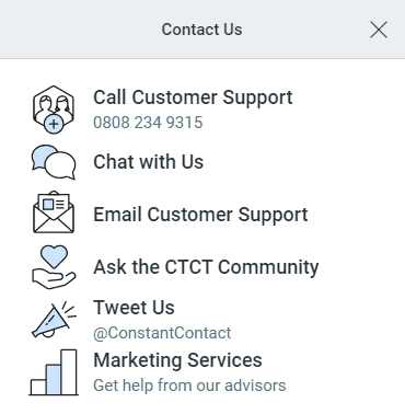 constant-contact's-support-channels