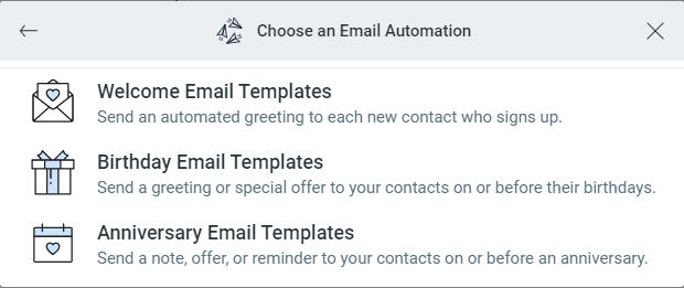 automation-options-on-constant-contact's-email-plan