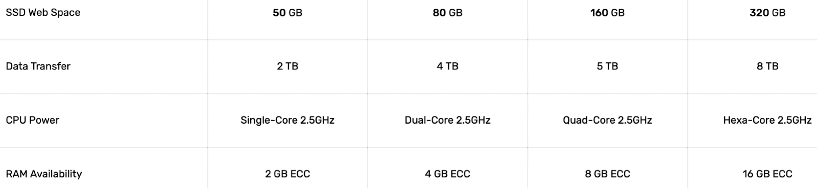 FastComet Essential Performance Features