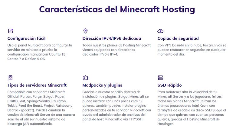Hostinger_MinecraftFeatures_ES