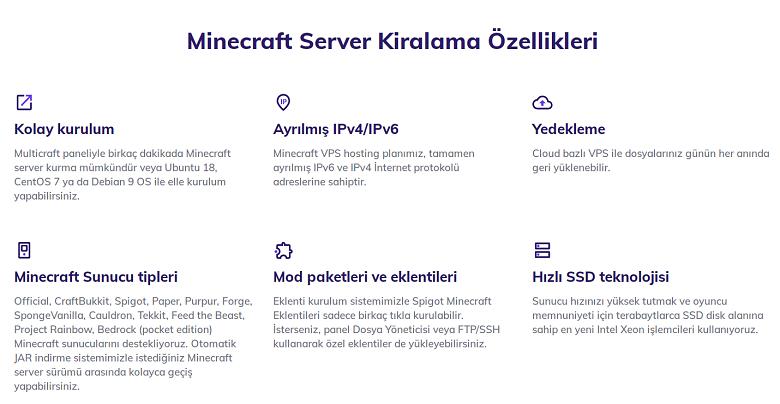 Minecraft-server-turkish