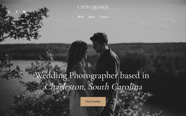 Squarespace photography template