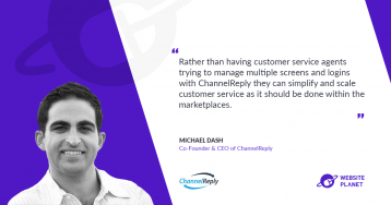 Managing customer service easily with ChannelReply