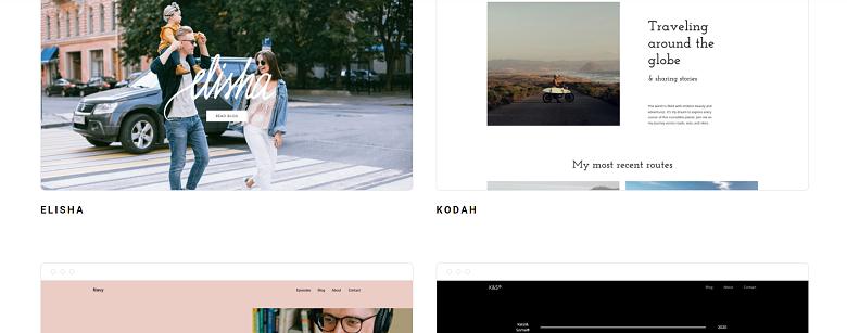 Zyro blog templates