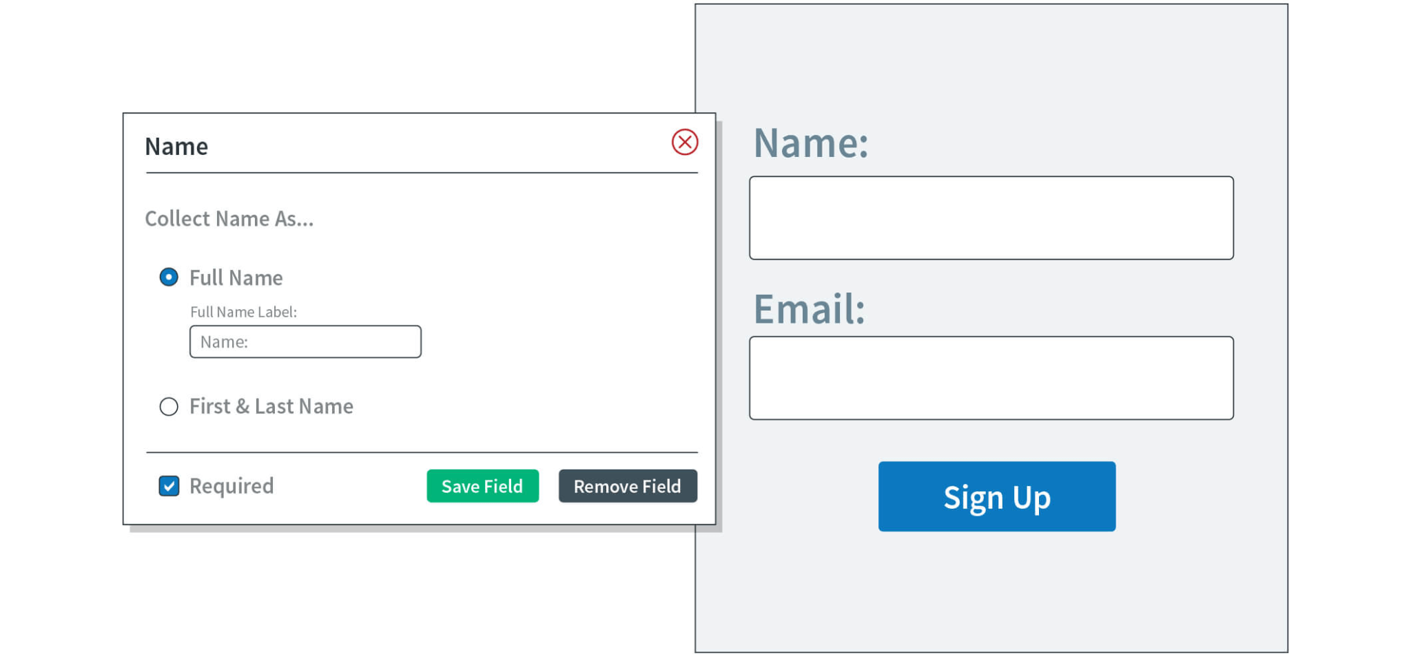 AWeber sign-up form creation